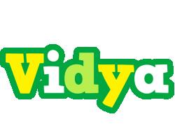 Vidya soccer logo
