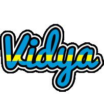 Vidya sweden logo