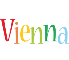 Vienna birthday logo