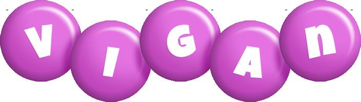 Vigan candy-purple logo