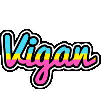 Vigan circus logo