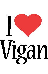 Vigan i-love logo