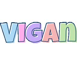 Vigan pastel logo