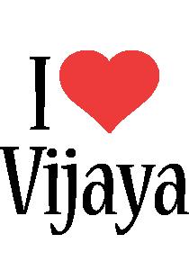 Vijaya i-love logo