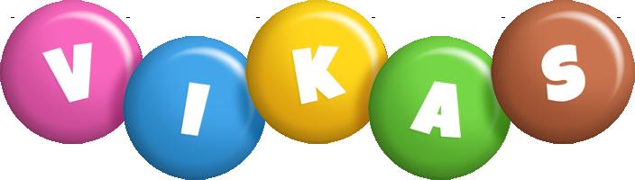 Vikas candy logo