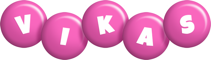 Vikas candy-pink logo