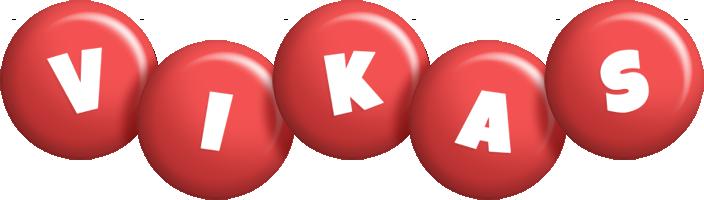 Vikas candy-red logo