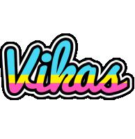 Vikas circus logo