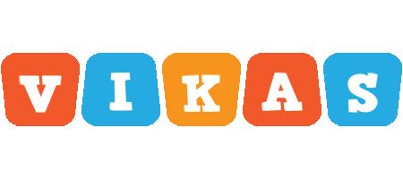 Vikas comics logo