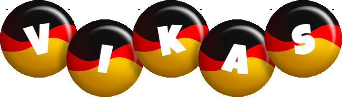 Vikas german logo
