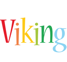 Viking birthday logo