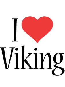 Viking i-love logo