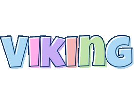 Viking pastel logo
