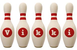 Vikki bowling-pin logo