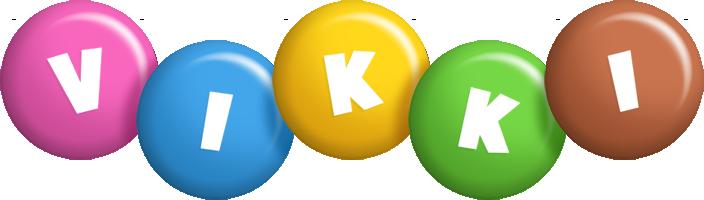 Vikki candy logo