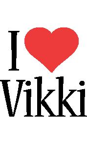 Vikki i-love logo