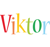Viktor birthday logo