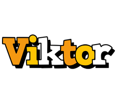 Viktor cartoon logo