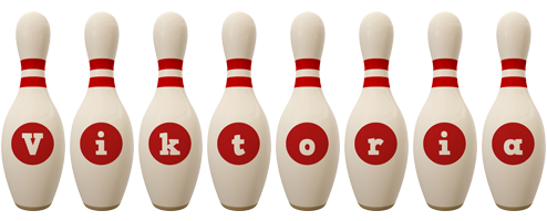 Viktoria bowling-pin logo