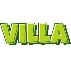 Villa summer logo