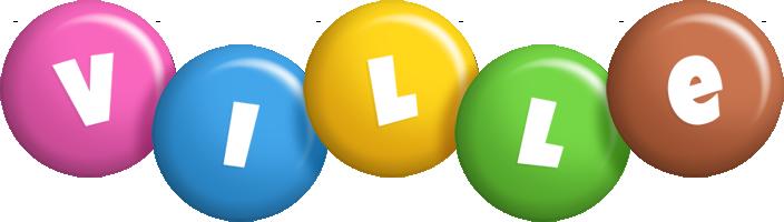 Ville candy logo
