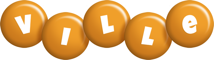 Ville candy-orange logo