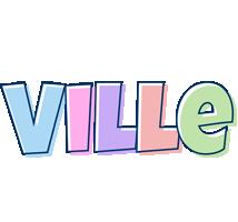 Ville pastel logo