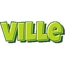 Ville summer logo