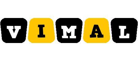 Vimal boots logo