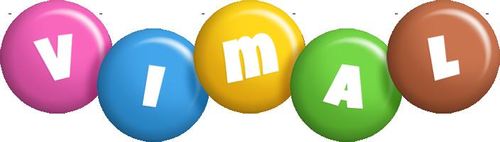 Vimal candy logo