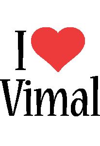 Vimal i-love logo