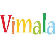 Vimala birthday logo