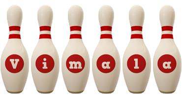 Vimala bowling-pin logo