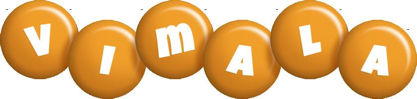 Vimala candy-orange logo