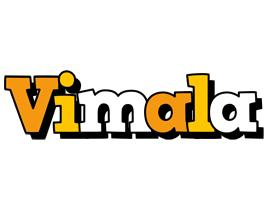 Vimala cartoon logo