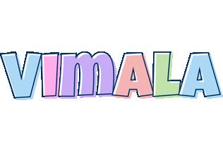 Vimala pastel logo