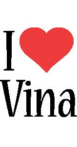 Vina i-love logo