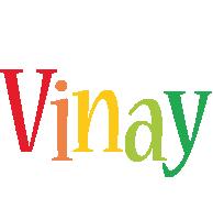 Vinay birthday logo