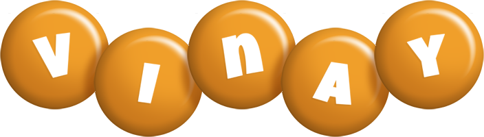 Vinay candy-orange logo