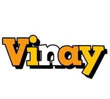 Vinay cartoon logo