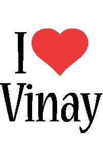 Vinay i-love logo