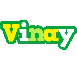 Vinay soccer logo