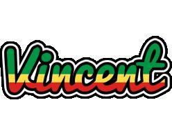 Vincent african logo