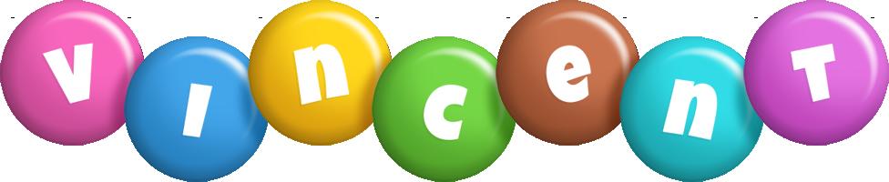 Vincent candy logo