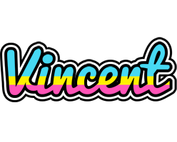 Vincent circus logo