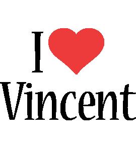 Vincent i-love logo