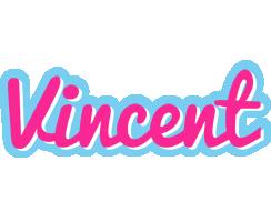 Vincent popstar logo