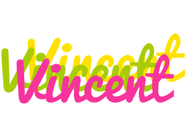 Vincent sweets logo