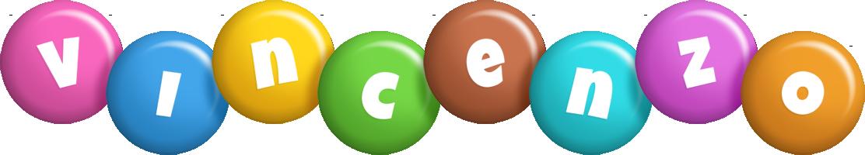 Vincenzo candy logo
