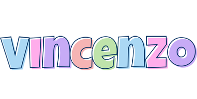 Vincenzo pastel logo